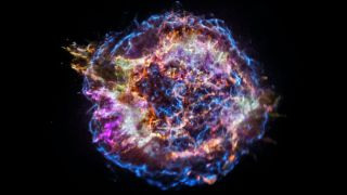 "Cassiopeia A, the remnant of a ""stripped-envelope supernova,"" may have actually taken its form from two supernovas in quick succession."