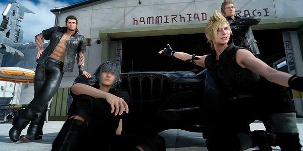 The cast of Final Fantasy 15 unites