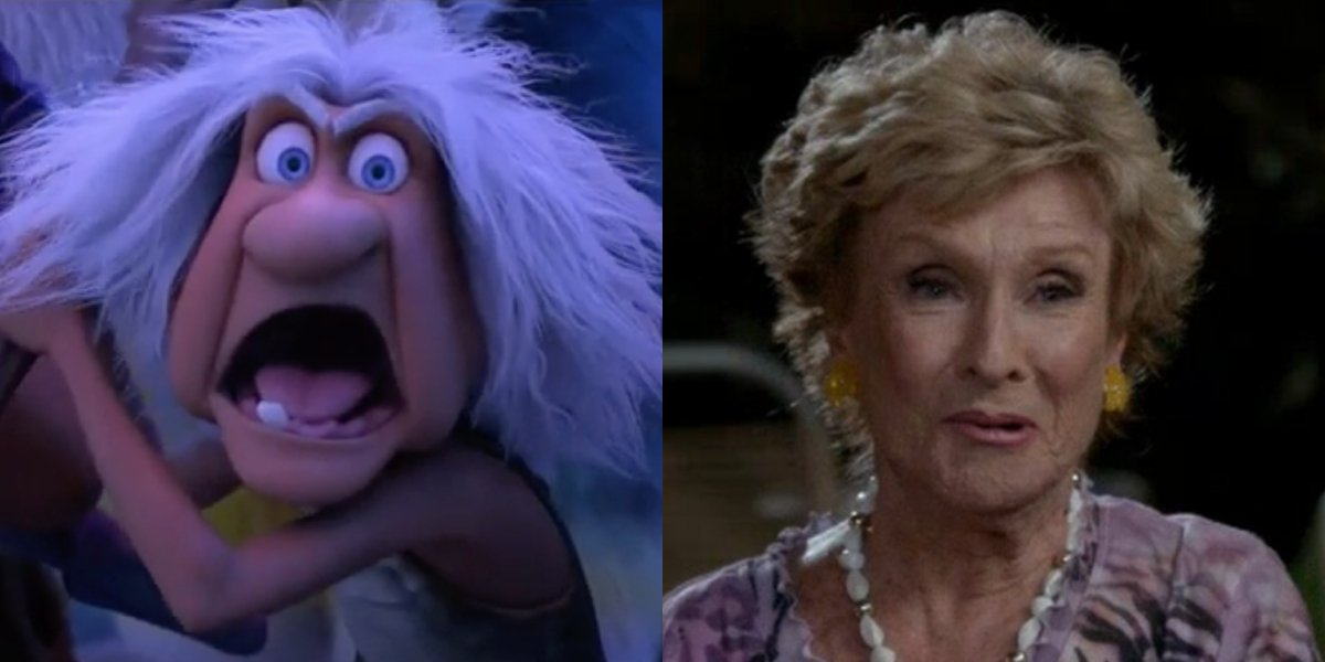 Gran Crood and Cloris Leachman