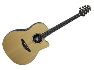 The CC29S-4C features a solid cedar top.