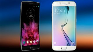 Samsung Galaxy S6 Edge vs. LG G Flex 2