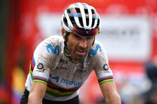 2018 road race world champion Alejandro Valverde (Spain) admits that he doesn't enjoy bad weather, but will nevertheless give it everything to try to defend his title in Yorkshire