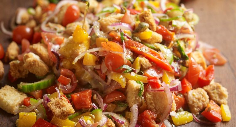 panzanella recipe from the National Trust