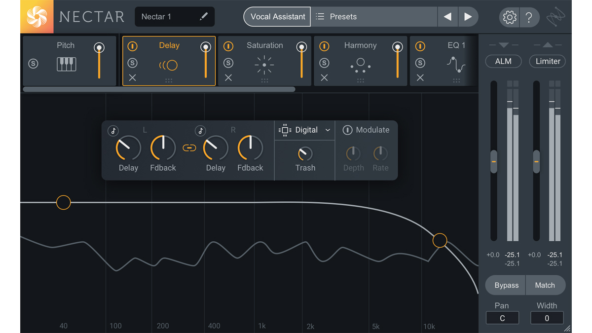 iZotope's Nectar 3 plugin comes with a smart assistant that