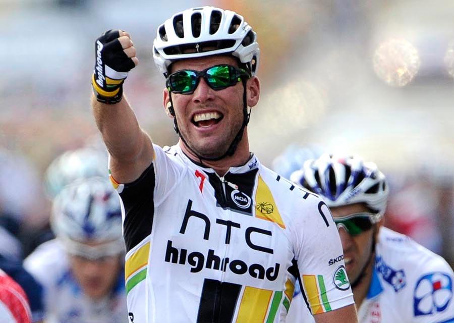 Mark Cavendish wins, Tour de France 2011 stage seven