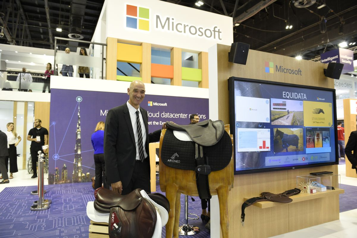 Microsoft showcases an AI solution for wellbeing of horses