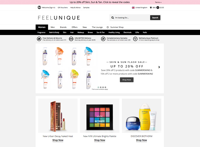 best online beauty shop - Online Beauty Stores in India - Style Destino