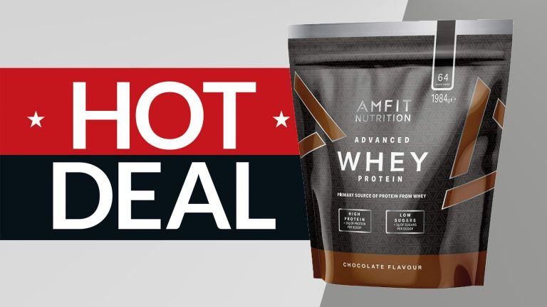 Amazon Amfit cheap protein powder deal