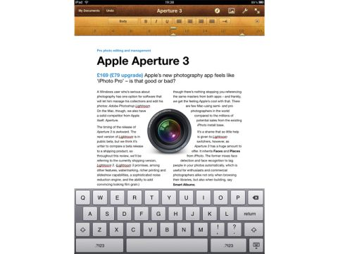 Pages (iPad)