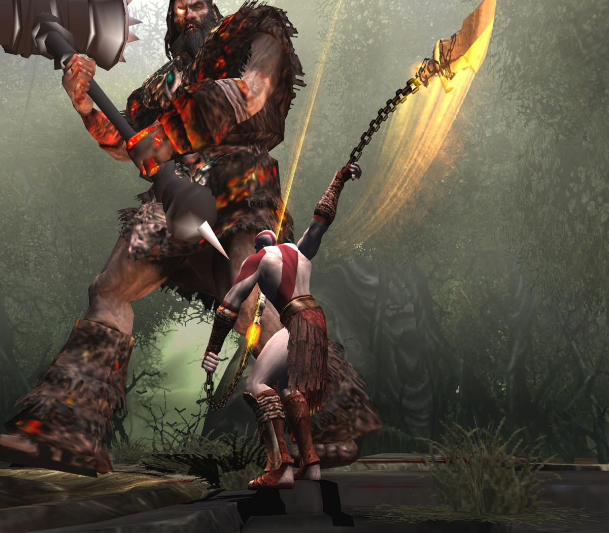god of war 2 - HD1200×1050