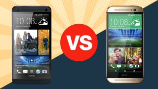 HTC One vs HTC One (M8)