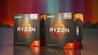 AMD Ryzen Processor Retail Boxes