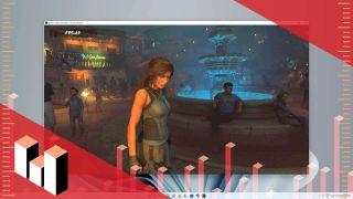Shadow of the Tomb Raider running on Windows 11