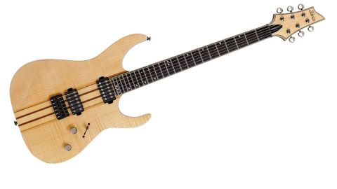 The finish may not appeal to the more discerning metal player, but the combination of body woods results in an inspiring tone,