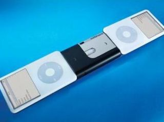 the new iPod to iPod transfer device