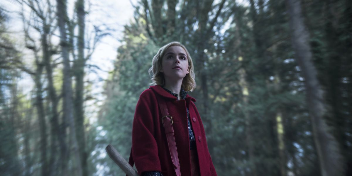 Sabrina in The Chilling Adventures of Sabrina.