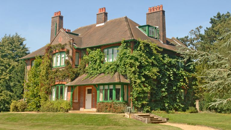 Edwardian house Shaw's Corner in Herefordshire managed by the National Trust