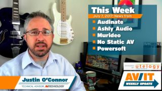 [VIDEO] AV/IT Weekly Update: Audinate's IPO, Ashly Audio, Murideo, Powersoft