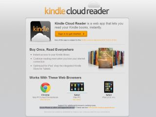 Kindle Cloud Reader - nice workaround for Kindle-loving iPad owners