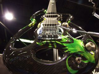 The Dragon is a high octane player s guitar