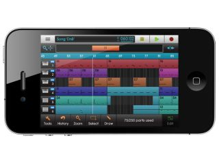 NanoStudio: a DAW in your pocket.