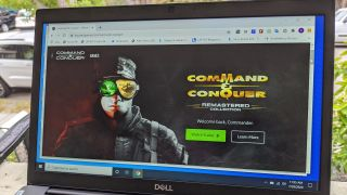 how to download command & conquer