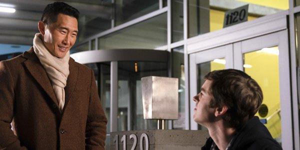 Daniel Dae Kim and Freddie Highmore in The Good Doctor Season 2 on ABC