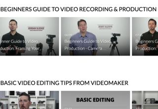 SchoolTube screenshot: Beginners Guide to Video Production
