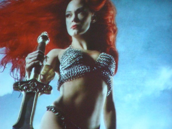 Comic Con: Five Images Of Rose McGowan As Red Sonja #98