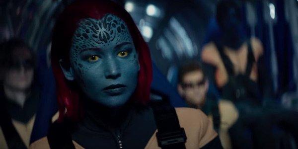 Jennifer Lawrence as Mystique in Dark Phoenix
