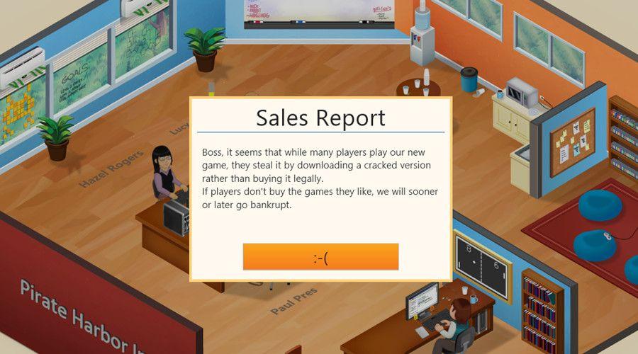 Game devs teaching pirates a lesson through illegal downloads