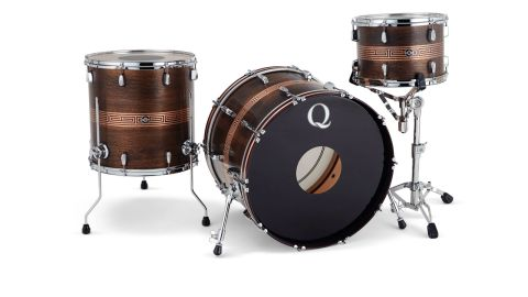 Shells have a Custom Dark Brown Patina finish, hand-applied with a Custom Aztec Brushed Copper design