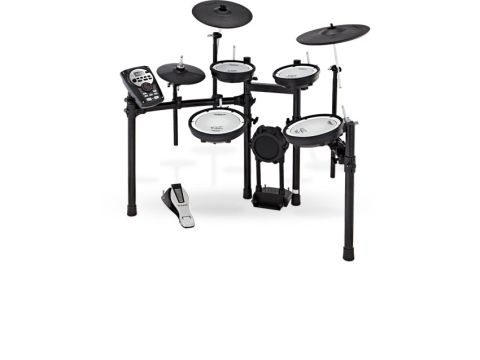 The mesh-heads of the TD-11KV make a massive difference to the playability and sound options of the kit compared with its more affordable sibling