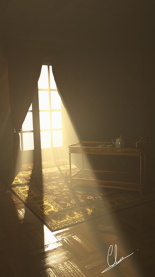 Cách tạo ra một ánh sáng khuếch tán trong khung cảnh 3d