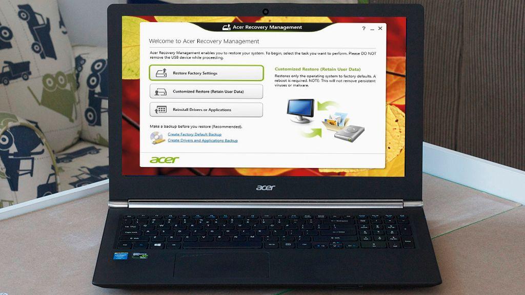 How to factory reset a laptop | TechRadar