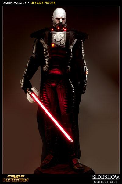 Prove Your Star Wars: The Old Republic Fandom With Life-Size Darth Malgus Statue #21379