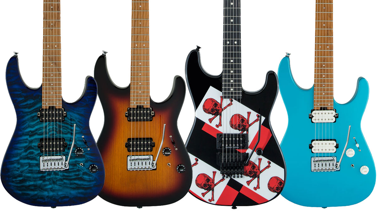 Summer NAMM 2019: Charvel targets progressive and old-school players with new Pro-Mod DK24 and Limited Edition Super Stock electric guitars | MusicRadar