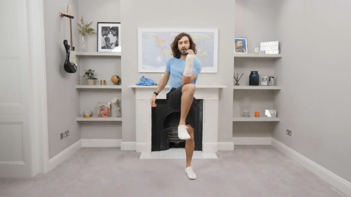 Joe Wicks' PE lesson March 31 - how to re-watch right now