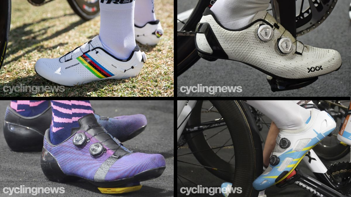 New shoes from Rapha, Bontrager and Mavic spotted at the Tour Down Under