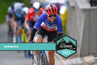SCHMOLLN, GERMANY - MAY 25: Audrey Cordon-Ragot of France and Trek - Segafredo during the 34th Internationale LOTTO Thüringen Ladies Tour 2021, Stage 1 a 89,9km stage from Schmolln to Schmolln / #ltlt2021 / #lottothueringenladiestour / #womencycling / on May 25, 2021 in Schmolln, Germany. (Photo by Luc Claessen/Getty Images)