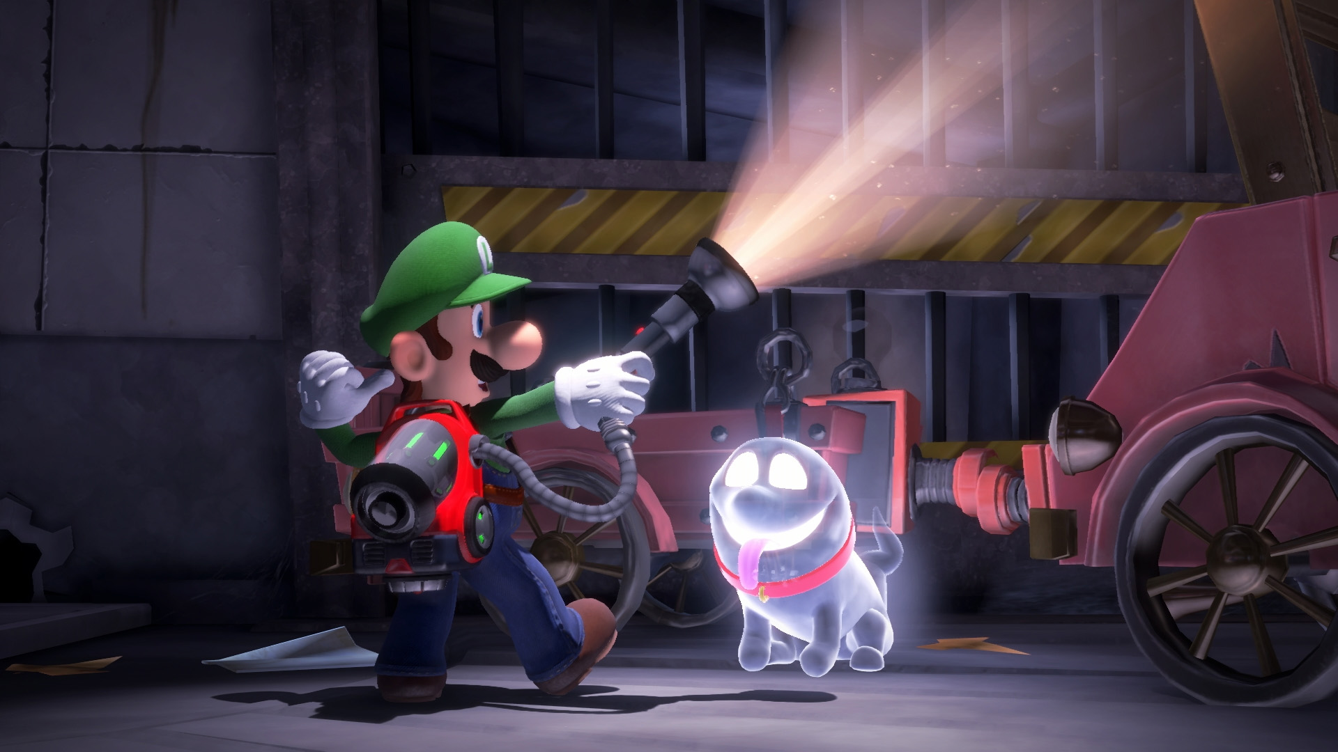 Gamescom 2019 Luigi's Mansion 3