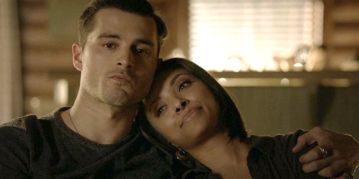 The Vampire Diaries Enzo and Bonnie The CW