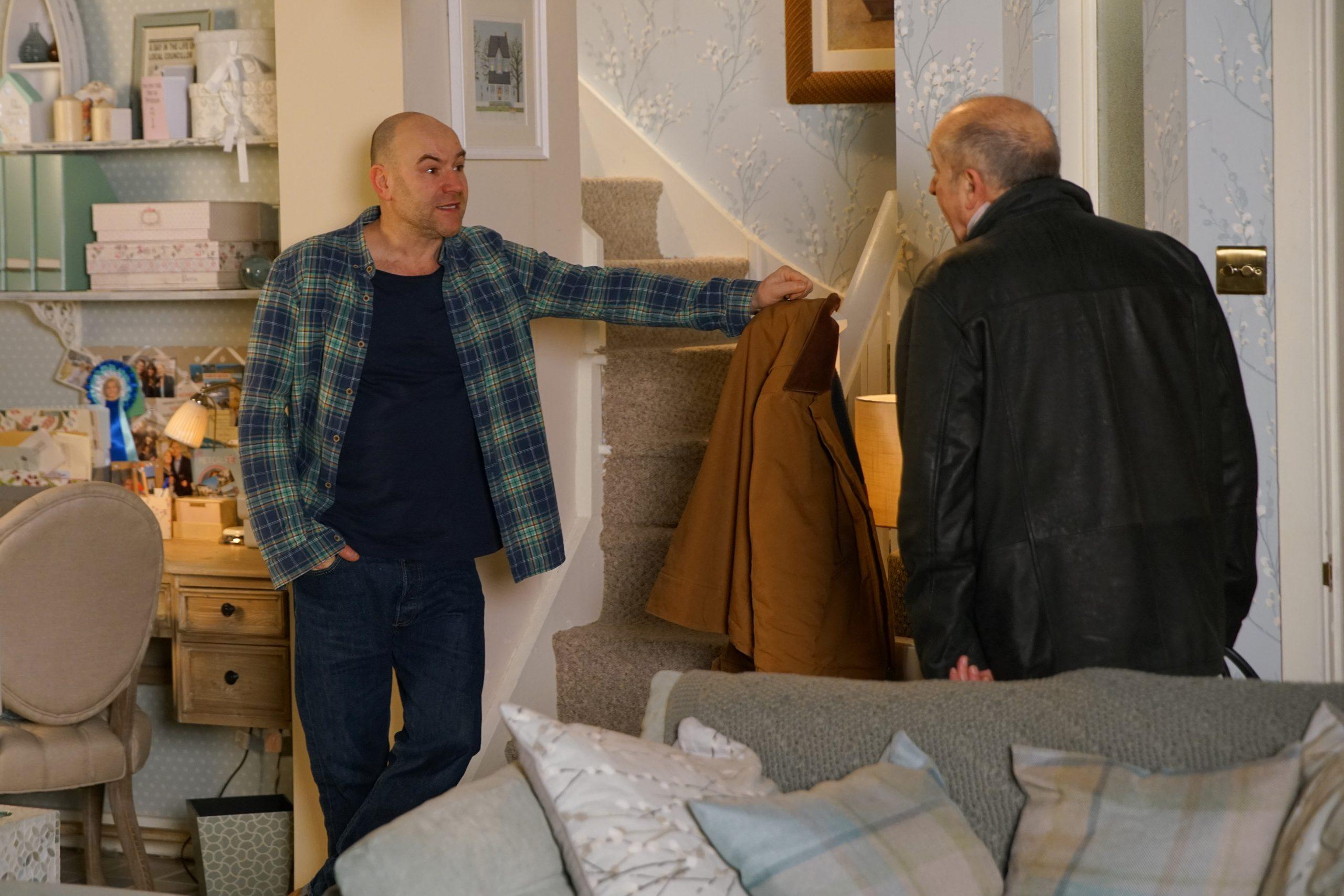 Coronation Street spoilers: Tim Metcalfe chucks his dad out!