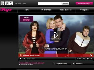 BBC iPlayer - popular service
