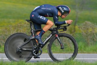 ORON SWITZERLAND APRIL 27 Richie Porte of Australia and Team INEOS Grenadiers during the 74th Tour De Romandie 2021 Prologue a 405km Individual Time Trial stage from Oron to Oron 700m ITT TDR2021 TDRnonstop UCIworldtour on April 27 2021 in Oron Switzerland Photo by Luc ClaessenGetty Images