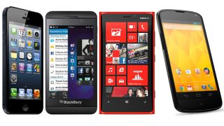 iOS 6 vs Jelly Bean vs Windows Phone 8 vs BlackBerry 10