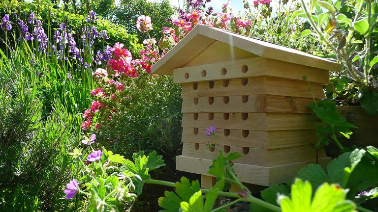 A solitary beehive on sale at Amazon