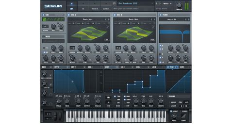 The whole Serum interface is alive with animated visualisations that make it easy to see what's modulating what
