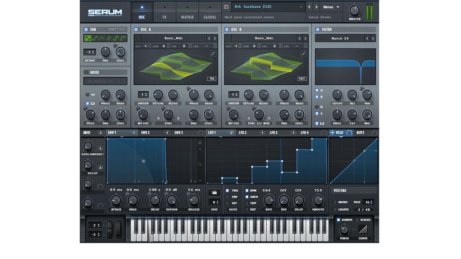 Xfer Records just released 100 new presets for its Serum