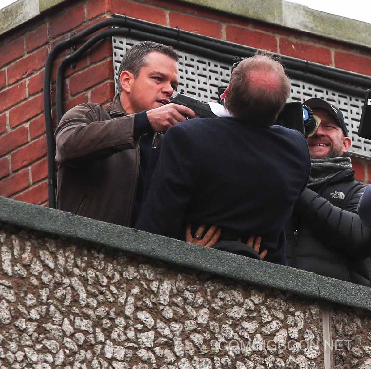 New set photos from Bourne 5 show Matt Damon in action